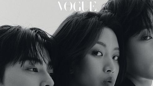 Bộ ba visual Cha Eun Woo, Moon Ga Young và Hwang In Yeop lên Vogue, nói về 'True Beauty'