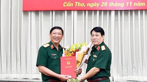 Trung tướng Huỳnh Chiến Thắng nhận quyết định Phó Tổng Tham mưu trưởng QĐND Việt Nam