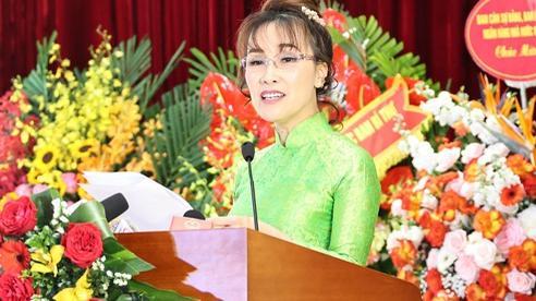 Bài phát biểu truyền cảm hứng của nữ tỷ phú tại Đại hội thi đua yêu nước ngành Ngân hàng