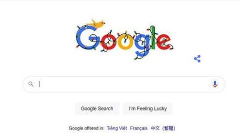 Google thay ảnh đại diện chào mừng mùa lễ hội tháng 12