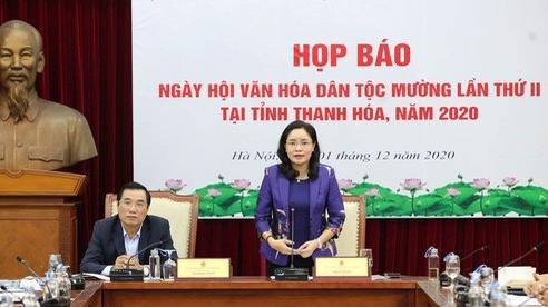 6 tỉnh, thành tham gia Ngày hội Văn hóa dân tộc Mường tại Thanh Hóa