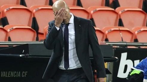 Zidane bất lực và Real thực sự lâm nguy