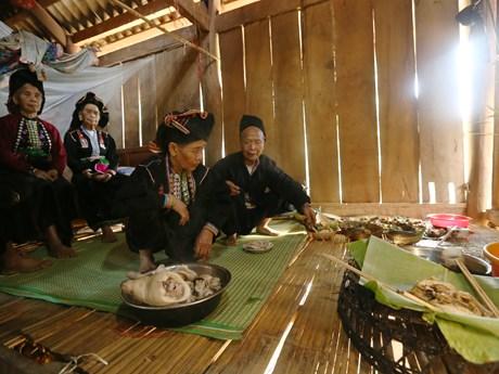 Độc đáo lễ hội Pang Phoóng của đồng bào dân tộc Kháng ở Điện Biên