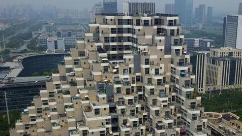 Vẻ độc đáo của những chung cư 'kim tự tháp' ở Trung Quốc