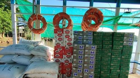 Phát hiện vụ buôn lậu bia, đường cát trị giá gần 40 triệu đồng