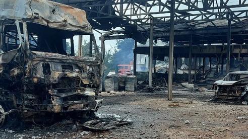 Sức khỏe nạn nhân người Việt trong vụ cháy kho vật tư Hải quan Lào hiện ra sao?