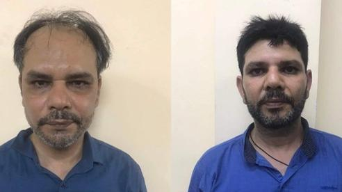 Bắt 2 người ngoại quốc thuê xe ô tô vờ đi mua hàng rồi cướp giật tài sản ở TP.HCM
