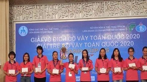 Giải vô địch và Giải trẻ cờ vây toàn quốc: Đoàn chủ nhà thắng lớn