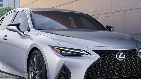 Lexus IS 2021 sắp ra mắt tại Việt Nam