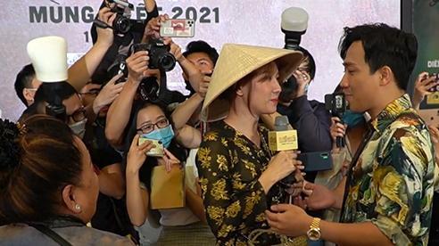 Trấn Thành sững sờ khi Hari lao vào họp báo tuyên bố đến để 'đánh ghen'