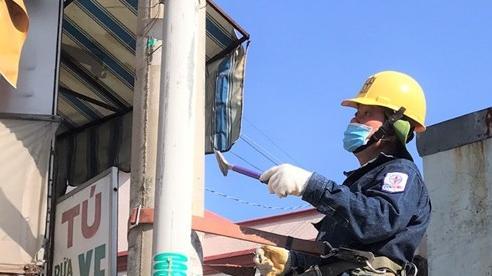 Công ty Điện lực Hóc Môn vận động an toàn và mỹ quan hành lang lưới điện