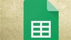 Hướng dẫn sử dụng Google Sheets cơ bản