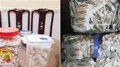 Trước khi lọ muối chấm Hảo Hảo đình đám được ra mắt, dân mạng từng chắt chiu cả 'gia tài' hàng trăm gói muối tại nhà để… ăn dần