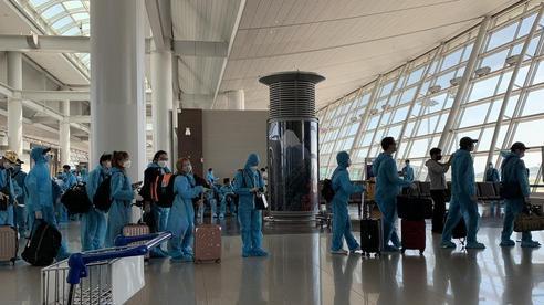 Đưa gần 340 công dân Việt Nam từ Hàn Quốc về Đà Nẵng
