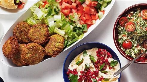 Lạ miệng với các món ăn của đất nước Israel