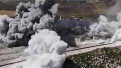 Khoảnh khắc lính Thổ hoảng loạn khi bị tấn công ở M4
