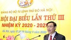 Bí thư Thành ủy Hà Nội: Xây dựng lực lượng vũ trang Thủ đô 'cách mạng, chính quy, tinh nhuệ, từng bước hiện đại'