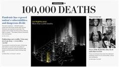 Mỹ vượt mốc 100.000 người tử vong do Covid-19