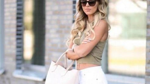 Không phải cứ jeans trắng là giúp nâng tầm style, bạn chọn dáng quần này thì mọi nhược điểm đôi chân sẽ bị 'tố' sạch