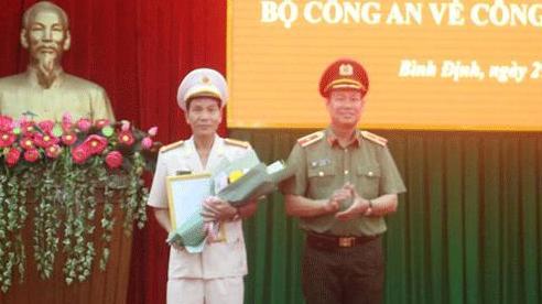 Phó GĐ Công an Quảng Ngãi làm Giám đốc Công an tỉnh Bình Định