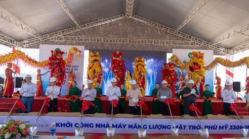 Khởi công dự án nhà máy năng lượng mặt trời lớn nhất tỉnh Bình Định, vốn đầu tư 6.200 tỷ đồng
