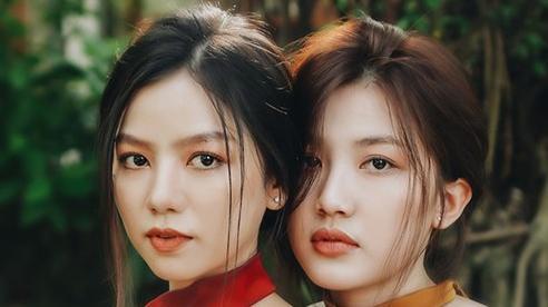 Lương Thanh của 'Hoa hồng trên ngực trái' sánh đôi cùng người đẹp Hạ Anh khoe vai trần quyến rũ