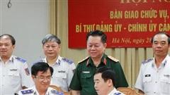 Bàn giao chức vụ Bí thư Đảng ủy – Chính ủy Cảnh sát biển Việt Nam