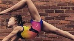 Bé gái 10 tuổi duy trì 30 giờ tập/tuần rèn cơ bụng 6 múi, tinh thần thể thao khiến ai cũng phải kinh ngạc