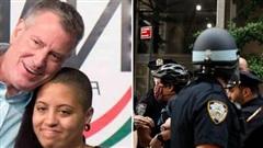 Thị trưởng New York nói về con gái bị bắt trong cuộc biểu tình: 'Con bé chỉ muốn nhìn thấy một thế giới tốt đẹp và hoà bình hơn'