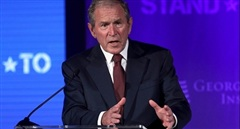 Cựu Tổng thống Bush: Đã đến lúc nước Mỹ xem xét lại sự thất bại thảm hại