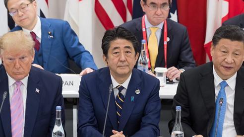 Nhật Bản kẹt giữa mâu thuẫn Mỹ-Trung