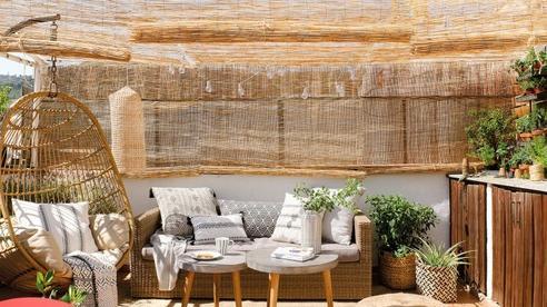 Biến sân thượng nhạt nhẽo thành góc 'chill' siêu yêu với những món đồ dùng, decor này