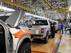Mỹ: Các hãng ôtô ở Detroit đẩy mạnh sản xuất để đáp ứng nhu cầu