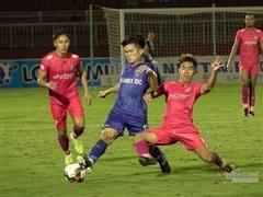 Sài Gòn FC bỏ lỡ hàng loạt cơ hội trước Becamex Bình Dương