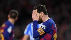 Messi gặp chấn thương trước thềm La Liga trở lại