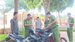 Triệt phá nhóm chuyên trộm xe máy liên tỉnh