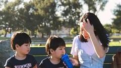 Hot mom Quỳnh Trâm chia sẻ khoảnh khắc bình yên ở Mỹ trong những ngày đầu tiên nới lỏng giãn cách
