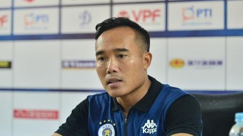 Trợ lý HLV Hà Nội FC Nguyễn Công Tuấn: 'Đây không phải trận đấu dễ dàng cho Hà Nội FC'