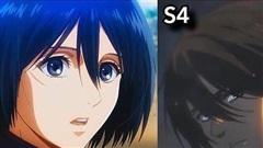 Ngắm quá trình 'dậy thì nhan sắc' của dàn nhân vật Attack On Titan qua 4 Season anime