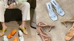Sandals mũi vuông đang sốt sình sịch, đây là 5 shop giày cực xinh giá từ 200k để bạn có thể kiếm ngay cho mình một đôi ưng ý