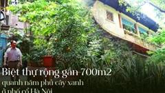 Ngắm biệt thự rộng gần 700m2 quanh năm phủ cây xanh mát rượi của cặp vợ chồng chủ hiệu vàng giàu nức tiếng một thời ở phố cổ Hà Nội
