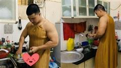 Giận dỗi vợ, anh chồng mặc luôn váy để cãi nhau tay đôi, sự thật đằng sau khiến hội chị em bất ngờ!