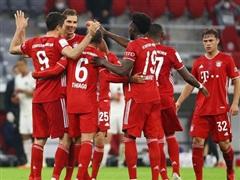 Bayern Munich san bằng kỷ lục ghi bàn tồn tại suốt 47 năm qua