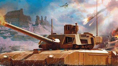 Tăng Armata đã đánh chặn tên lửa Javelin