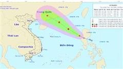 Thông tin chính thức về áp thấp nhiệt đới, mưa lớn, cảnh báo dông, lốc, sét, gió giật mạnh ở Bắc Bộ