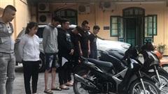 Bắt giữ thêm 7 'quái xế' lượn phố Hà Nội, tông trúng người đi đường