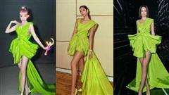 Kỷ lục: 1 chiếc đầm 8 sao Việt chen nhau mặc, gắt nhất là Tóc Tiên khi biến hóa độc lạ