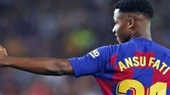 Sếp bự Barca lên tiếng việc bán Ansu Fati cho MU