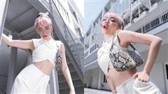 Nàng dâu gợi cảm nhất showbiz chắc hẳn là Tóc Tiên, cân đẹp từ áo cắt xẻ đến bikini tí hon