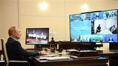 Phòng khử trùng đặc biệt bảo vệ Tổng thống Nga khỏi Covid-19